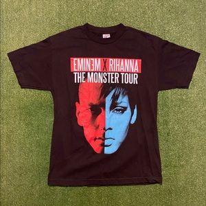 Eminem & Rihanna 2014 Monster Tour Concert Shirt